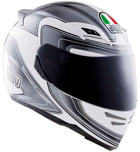 Casco Integrale AGV Fibra Sthealth SV Stile White Black Tg.L