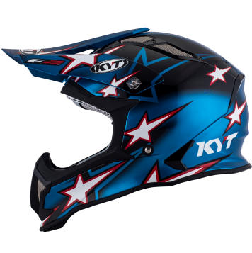 Casco Cross Fibra  KYT Strike Eagle Romain Febrve Replica