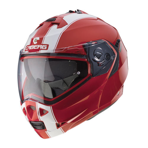 Casco Modulare Caberg Duke II Legend Ducati Red White