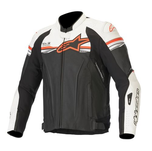 GIACCA MOTO ALPINESTARS GP R V2 LEATHER JACKET TECH-AIR COMP.