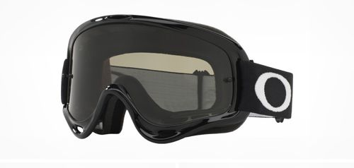 Occhiali Cross Oakley O-Frame MX Jet Black lente scura